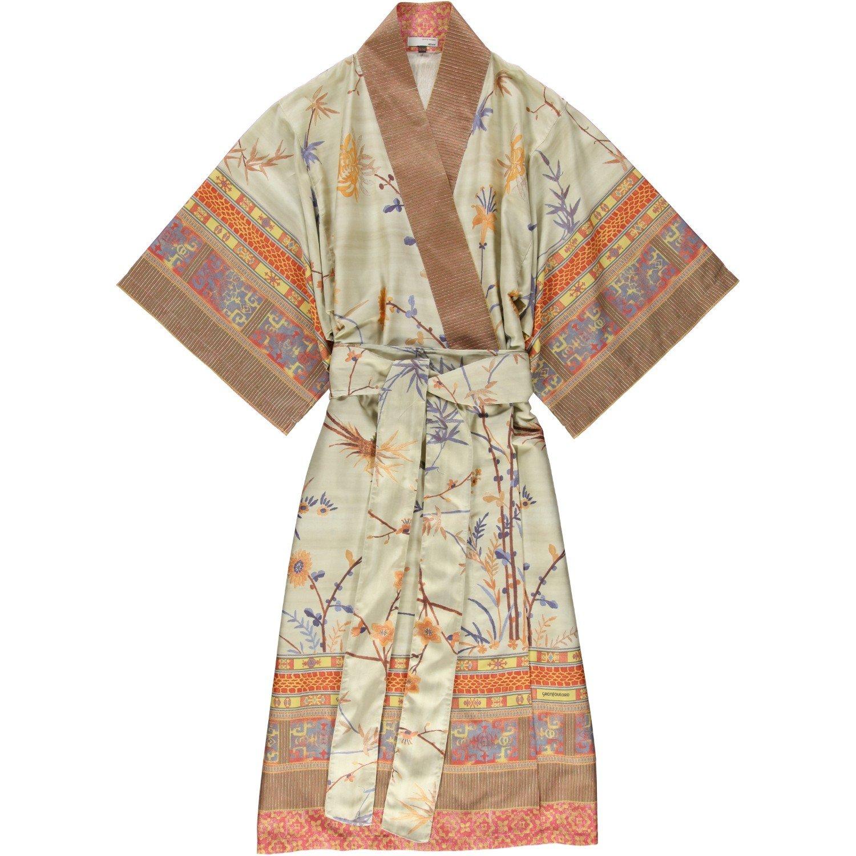 Beige Bassetti Fong Kimono algod/ón 140/x 50/x 1/cm