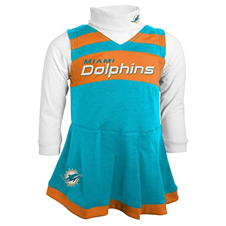4556f703e Amazon.com   Outerstuff NFL Girls Cheer Jumper Dress with Turtleneck ...