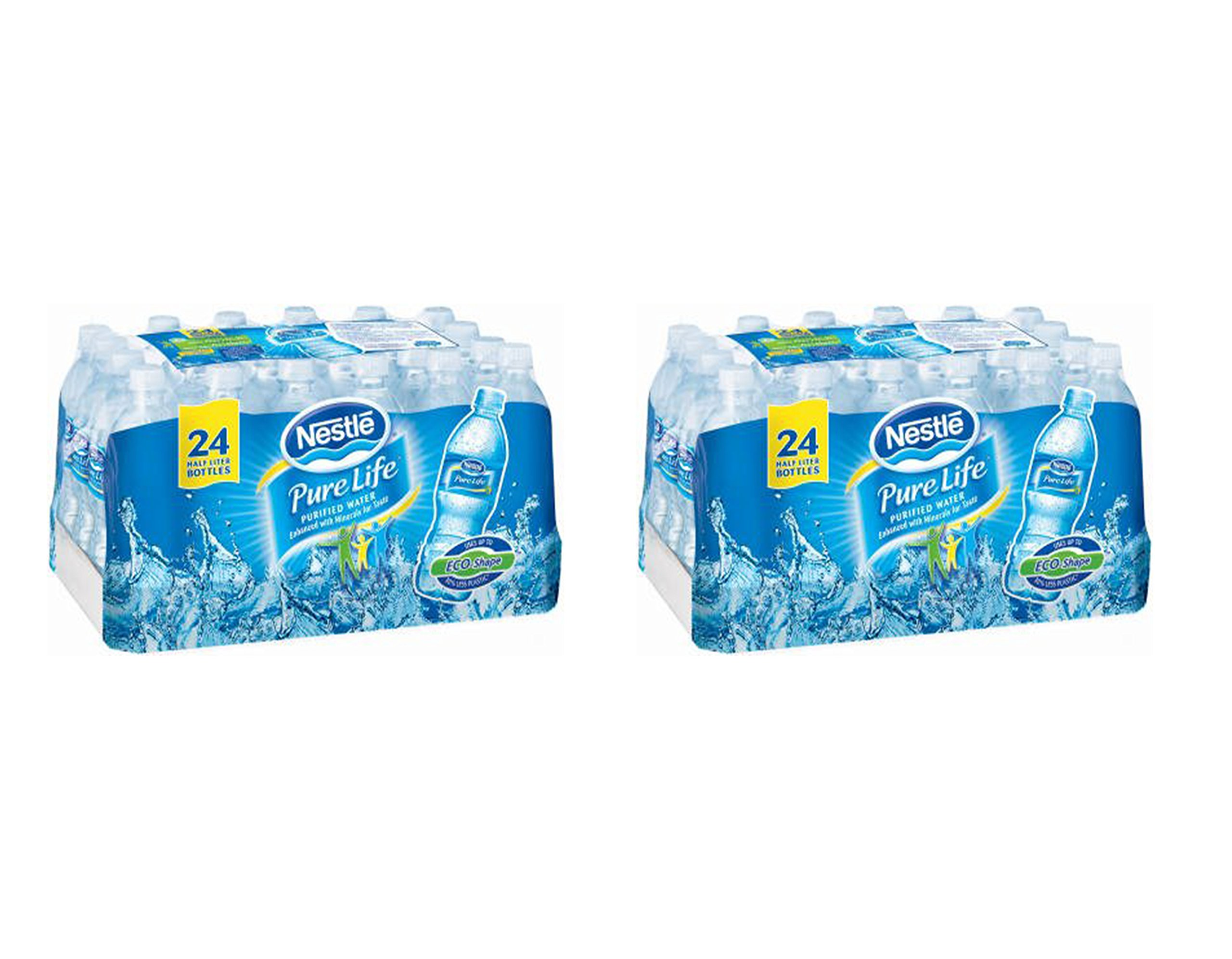 Nestle Waters North America 101264 ''Nestle Pure Life'' Purified Water 16.9 Oz (Pack of 48)