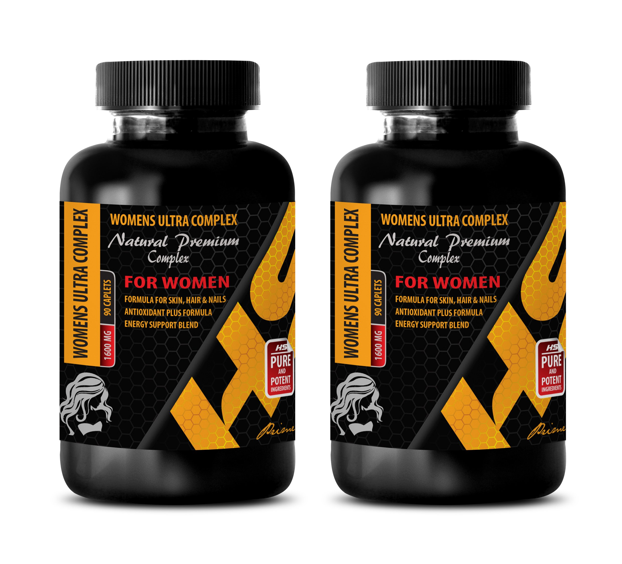 menopause supplements weight control - WOMENS ULTRA COMPLEX 1600 MG - NATURAL PREMIUM - green tea extract with vitamin b - 2 Bottles 180 Caplets