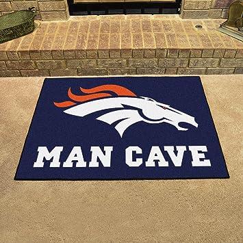 Denver Broncos Man Cave All Star Rug 34u0026quot;x45u0026quot; ...