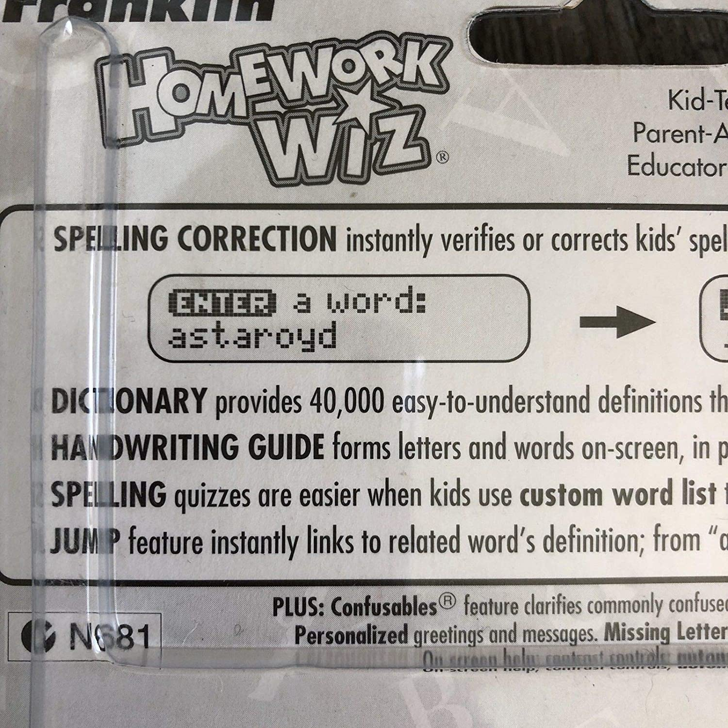 Amazon com : Franklin KID-210 Homework Wiz Childrens