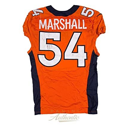 Brandon Marshall Game Worn Denver Broncos Jersey From 10 2 2016 vs the Tampa b287fba90