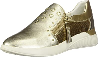 Low-Top Sneakers, Gold Gold C2005, 8