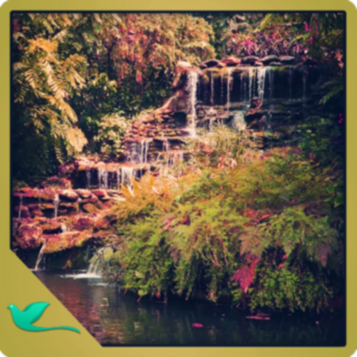 Free Green Egarden Waterfall   Meditate In The Peaceful Garden
