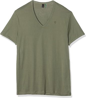 G-STAR RAW Basic V-Neck 2-Pack Camiseta para Hombre: Amazon.es: Ropa y accesorios