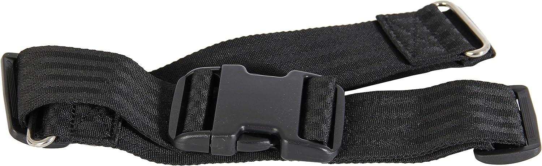 Patterson Medical - Cinturón con cierre para silla de ruedas (cintura máx. 45,7 cm)