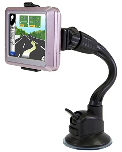 Amazon.com: Bracketron Windshield Mount with Flex Arm & GPS Adapters: Cell Phones & Accessories