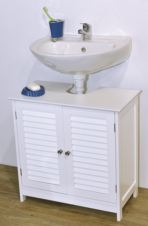 Bathroom Sink And Cabinet | Evideco 9900307 Bath Under Sink Storage Vanity Cabinet Florence