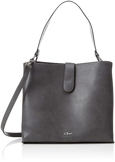 Damen oliver Grau bags 38 Henkeltasche 899 greyblack 94 3689 S WUE6SRxE