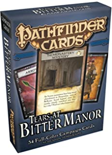 Pathfinder Campaign Cards Social Combat Deck