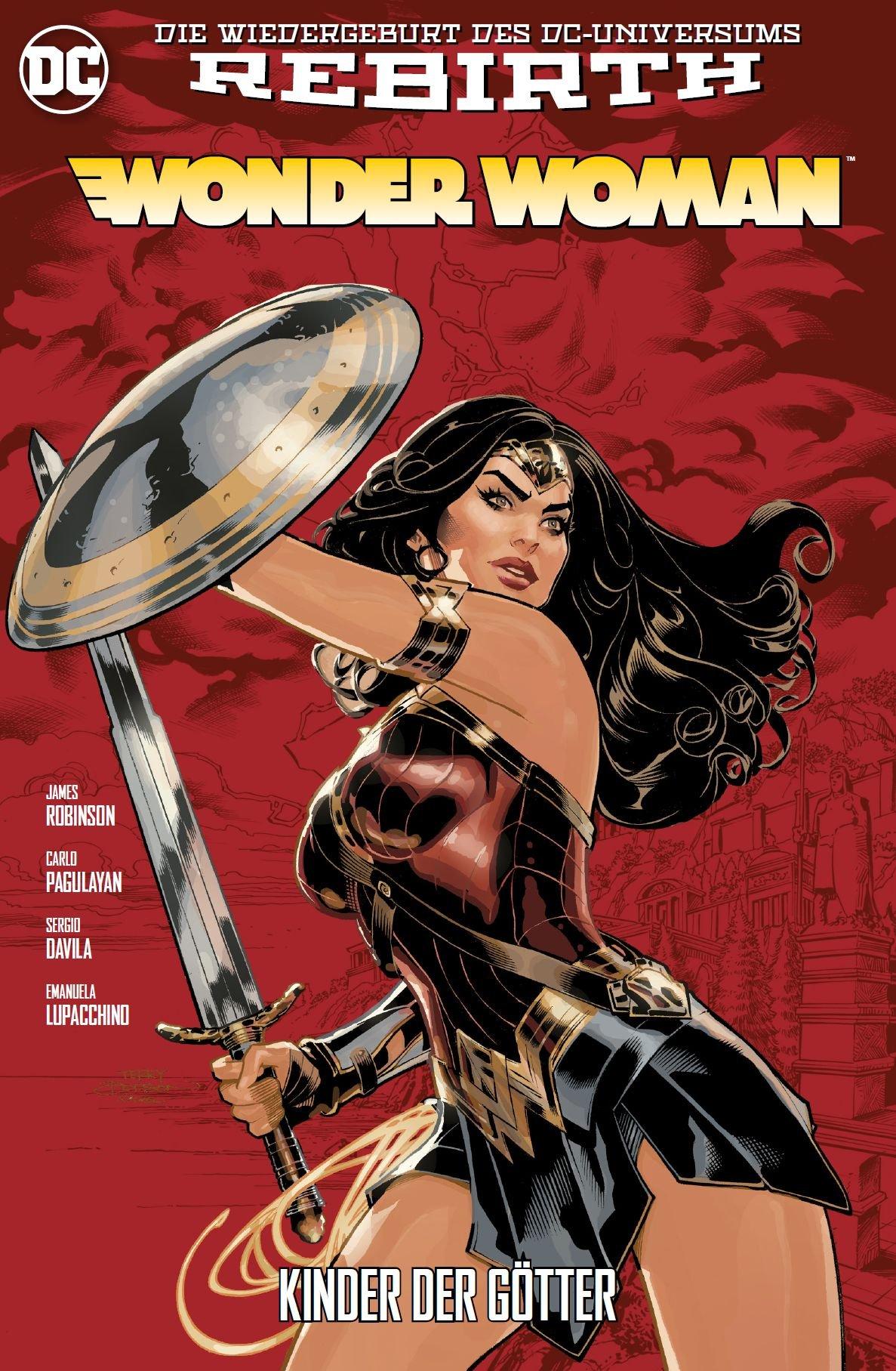Wonder Woman: Bd. 5 (2. Serie): Kinder der Götter Taschenbuch – 10. Juli 2018 James Dale Robinson Sergio Fernandez Davila Emanuela Lupacchino Carlo Pagulayan