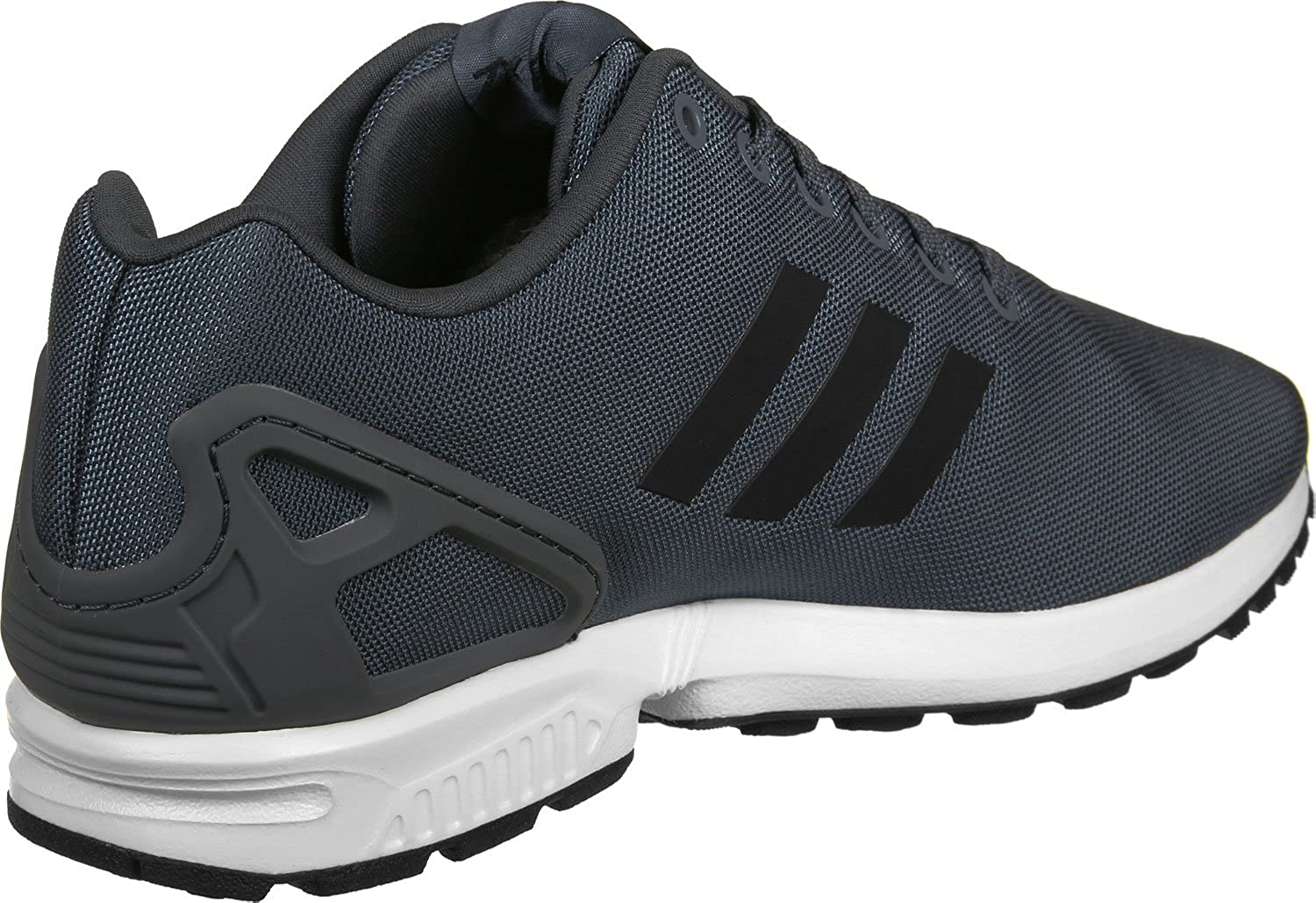 Grey White adidas Men's Zx Flux Trainers