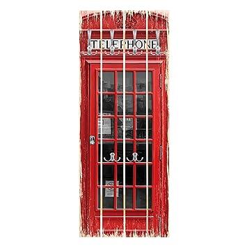 Bilderwelten Perchero de Madera - Telephone - Ganchos ...