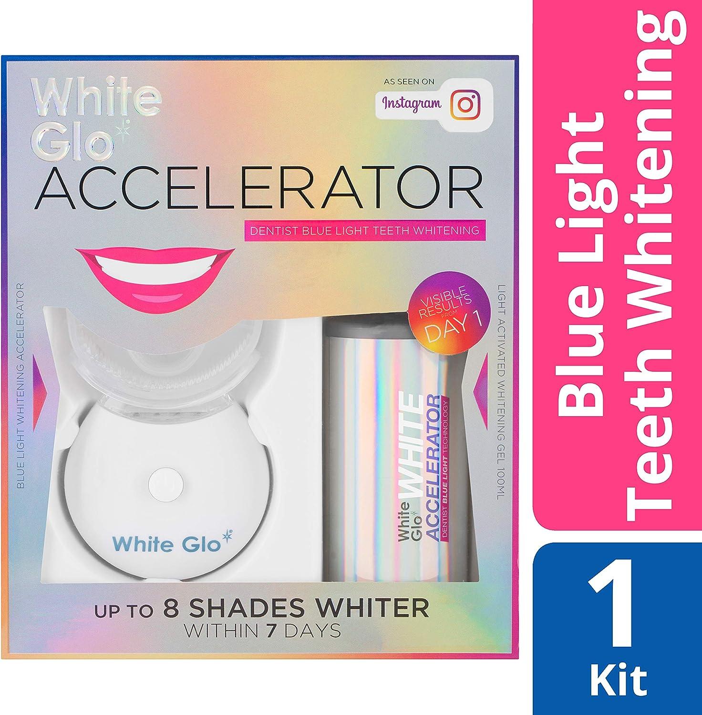 Amazon Com White Glo Accelerator Teeth Whitening Kit With Led