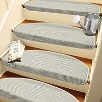 Beyaz Renk Kendinden Yapışkanlı Merdiven Basamak Paspası/Halısı