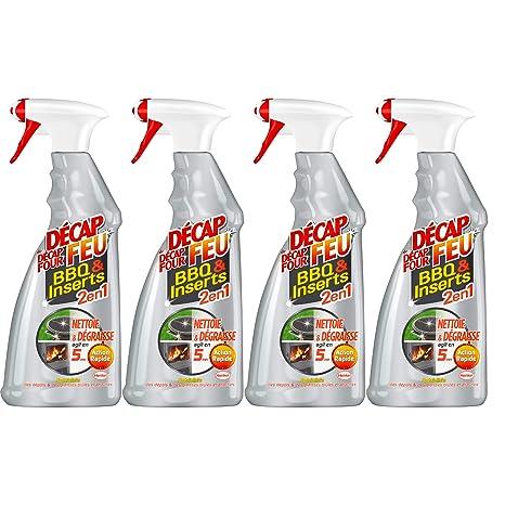 657fd6b9aeea6 Décap Feu Spray 2 en1 Nettoyant BBQ   Inserts 750 ml - Lot de 4 ...
