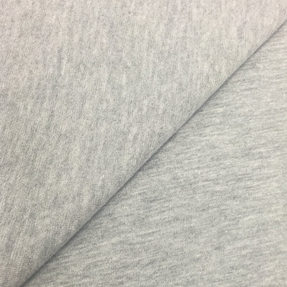 99fa3babced Amazon.com: USA Made Premium Quality Cotton Modal Jesey Knit Fabric by the  Yard - Heather Grey - 1 Yard
