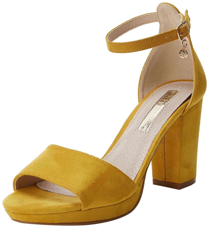 TALLA 38 EU. XTI 30686, Zapatos con Tacon y Correa de Tobillo para Mujer