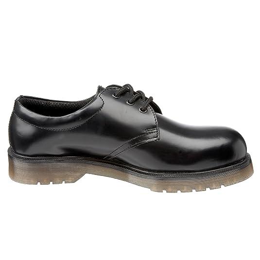 Sterling Safetywear SS100 Size 4 - Calzado de protección de cuero para hombre, color negro, talla 37
