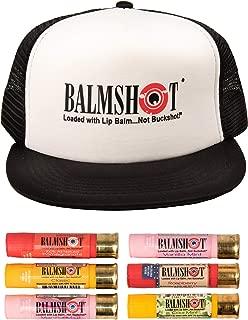 product image for BALMSHOT Lip Balm 6 Pack w/Logo Cap