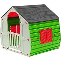 COIL Spielhaus für Kinder Gartenhaus Kinderspielhaus Kunstoff
