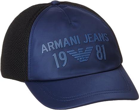 Armani Jeans 9340667P915 Gorra de béisbol, Azul (BLU Navy), Talla ...