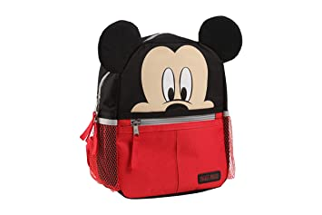 80fe297e0c9 Amazon.com   Disney Mickey Mouse Mini Backpack with Safety Harness Straps  for Toddlers   Baby