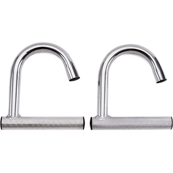 2 strong metal handles for resistance bands and neutral grip chin up bar attachment Valkyrie Resistance Bands
