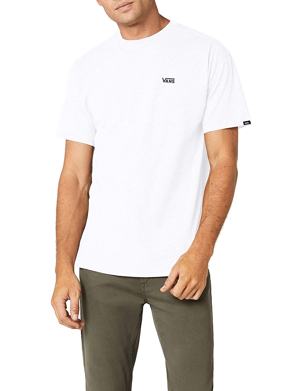 TALLA L. Vans Left Chest Logo tee, Camiseta para Hombre