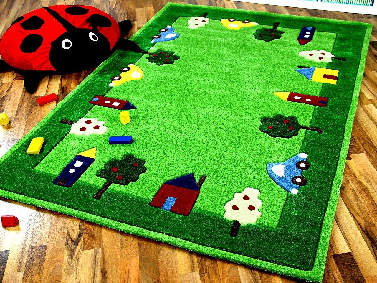 Lifestyle Kinderteppich Spielwelt Grün in 3 Größen !!! Sofort Lieferbar !!!