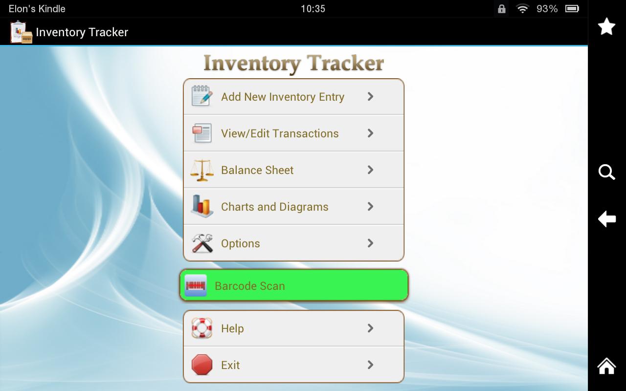 inventory tracker