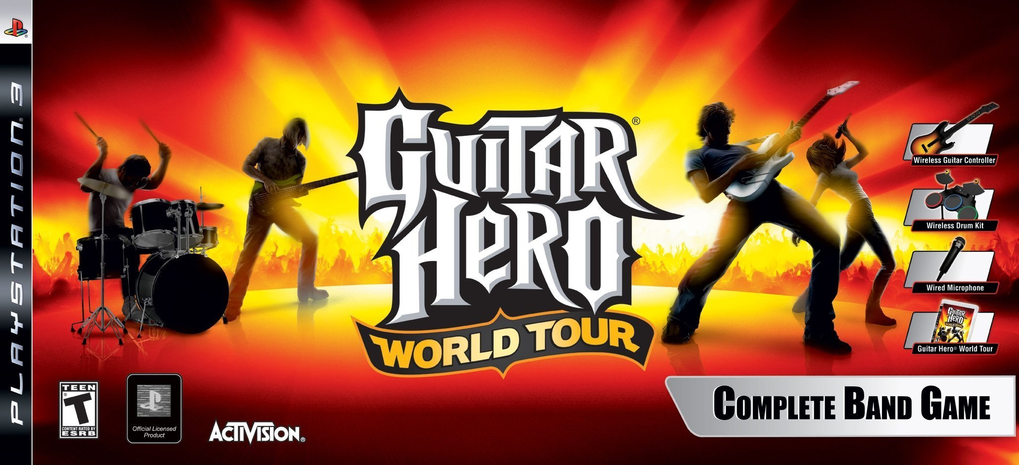 Guitar Hero World Tour Band Bundle for PlayStation 3 by Activision
