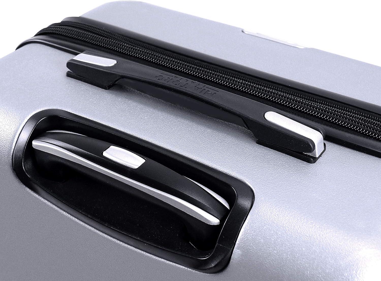 Black Mia Toro Italy Accadia Hardside 29 Inch Spinner Luggage