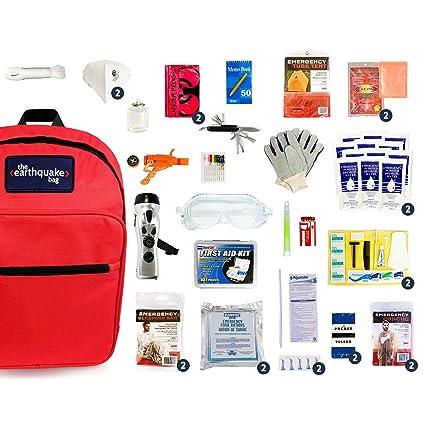 Amazon.com: Kit de emergencia para terremotos, huracanes ...