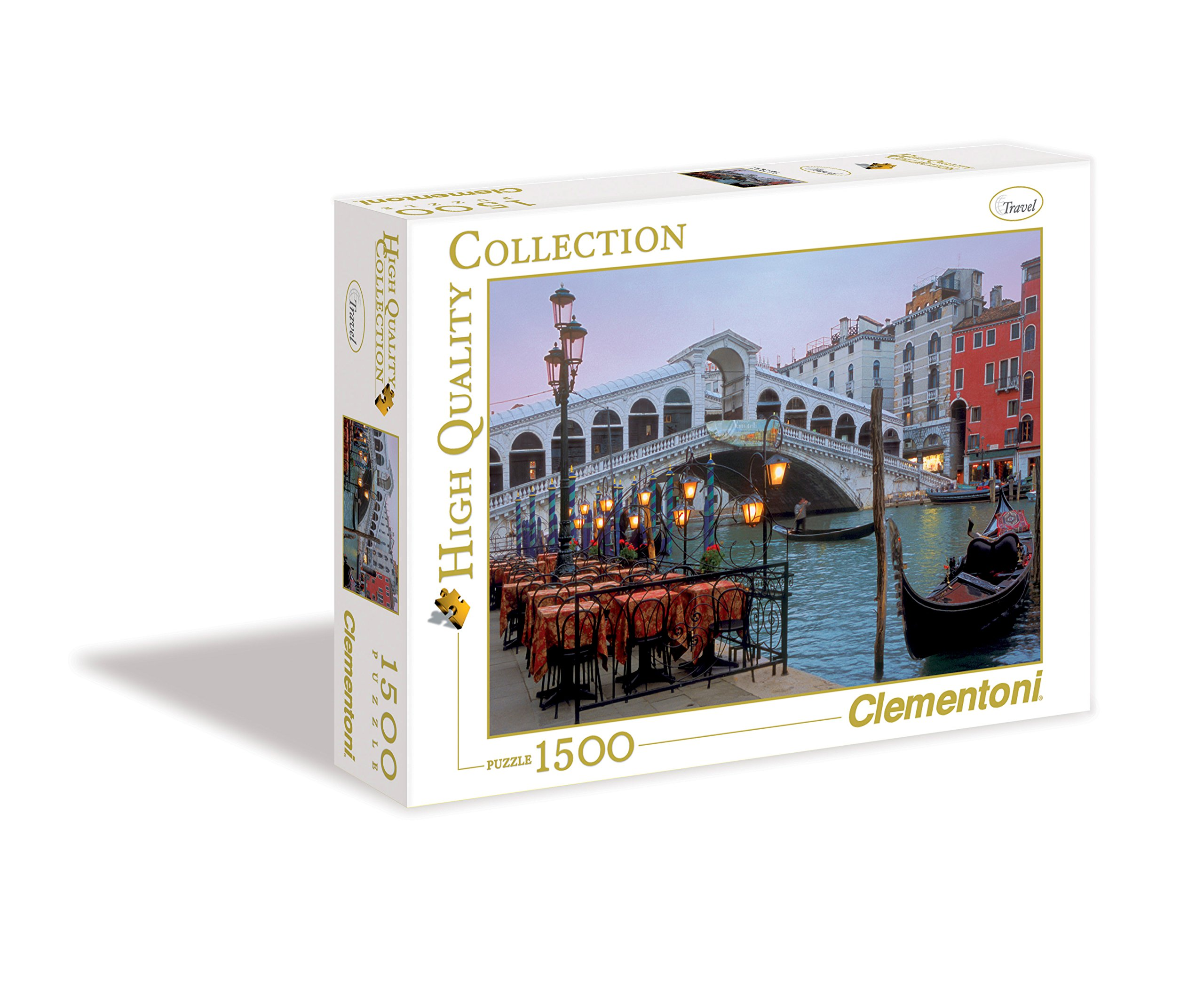 Venice, 1500 Piece Jigsaw Puzzle by Clementoni