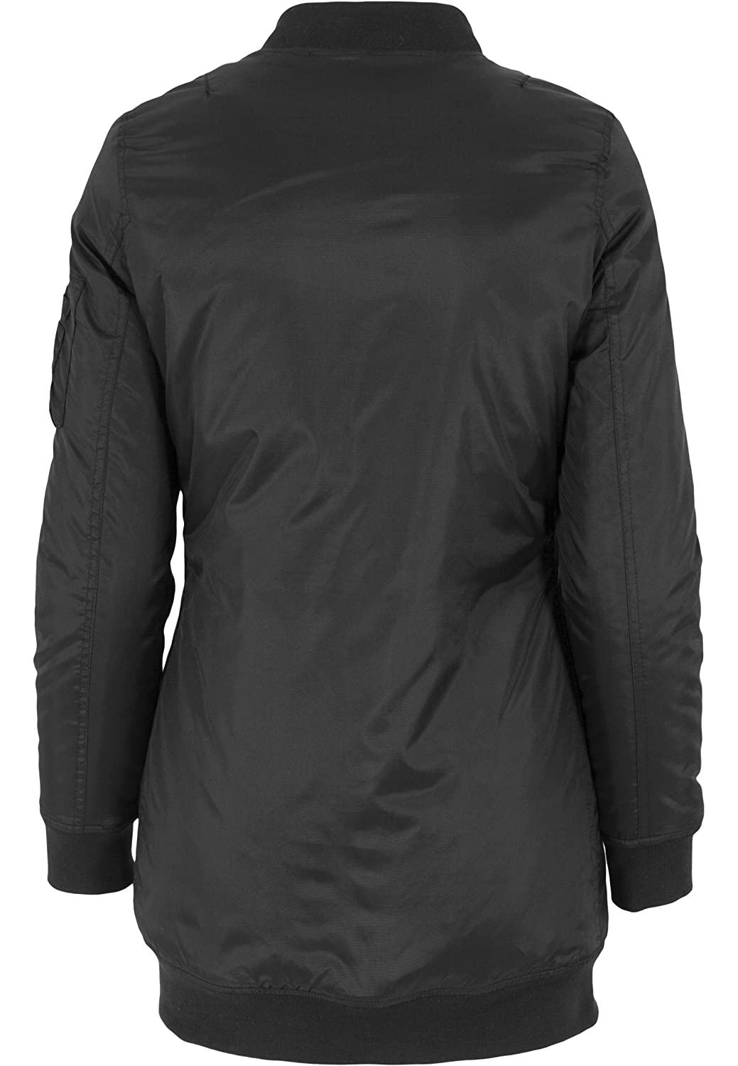 a7d5f0fb7 Urban Classics TB1092 Ladies Long Bomber Jacket Giacca Donna Streetwear