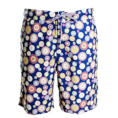 1d15577c1df32 Michael's Swimwear Men's 'Balloon Boy' Printed Board Short Swim Trunks (XL)