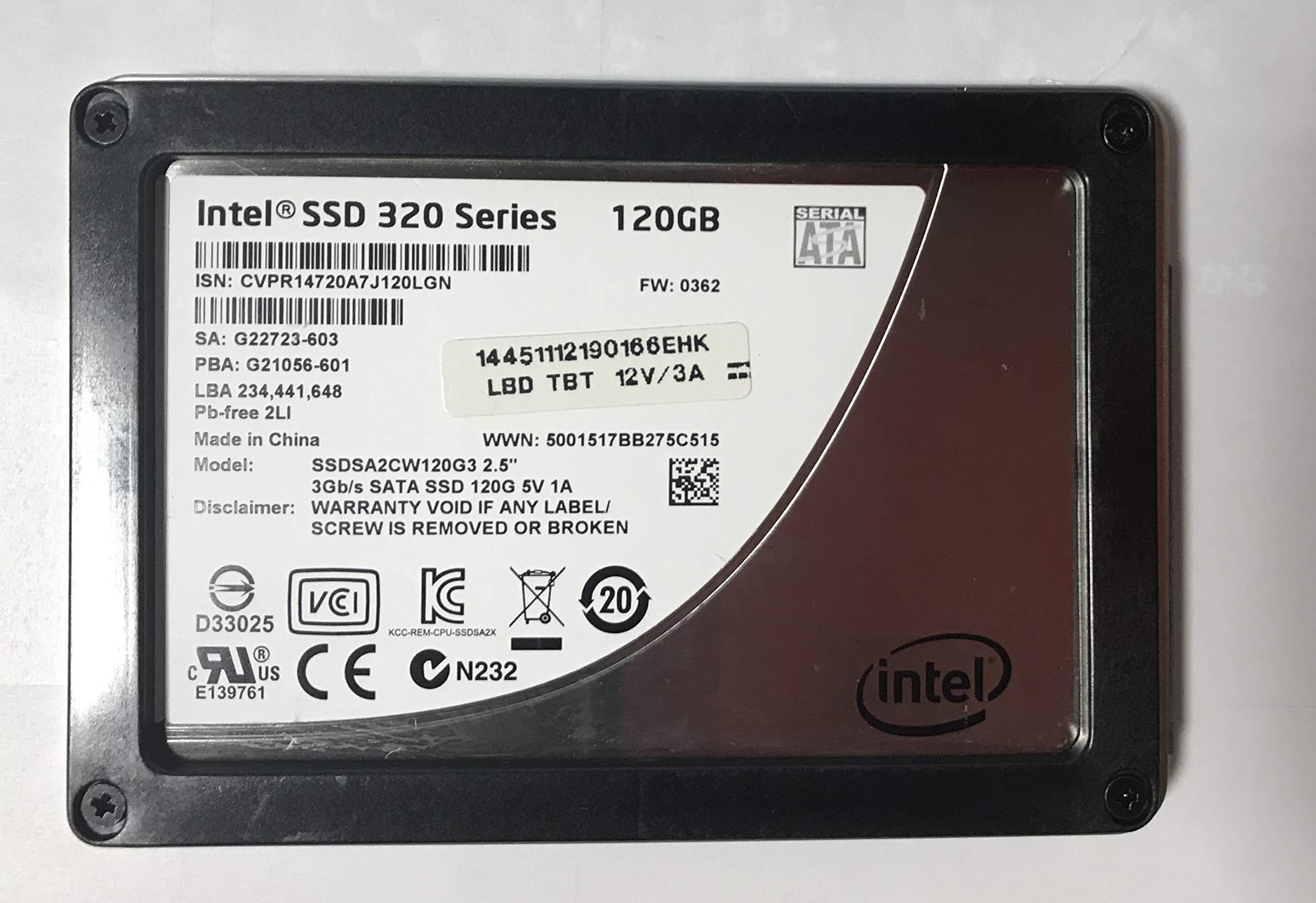 SSD 120GB SATA Intel SA2CW120G3 120GB