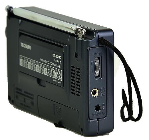 Amazon.com: TECSUN DR-920C Digital FM/MW/SW World Band Radio (Black Color): Home Audio & Theater