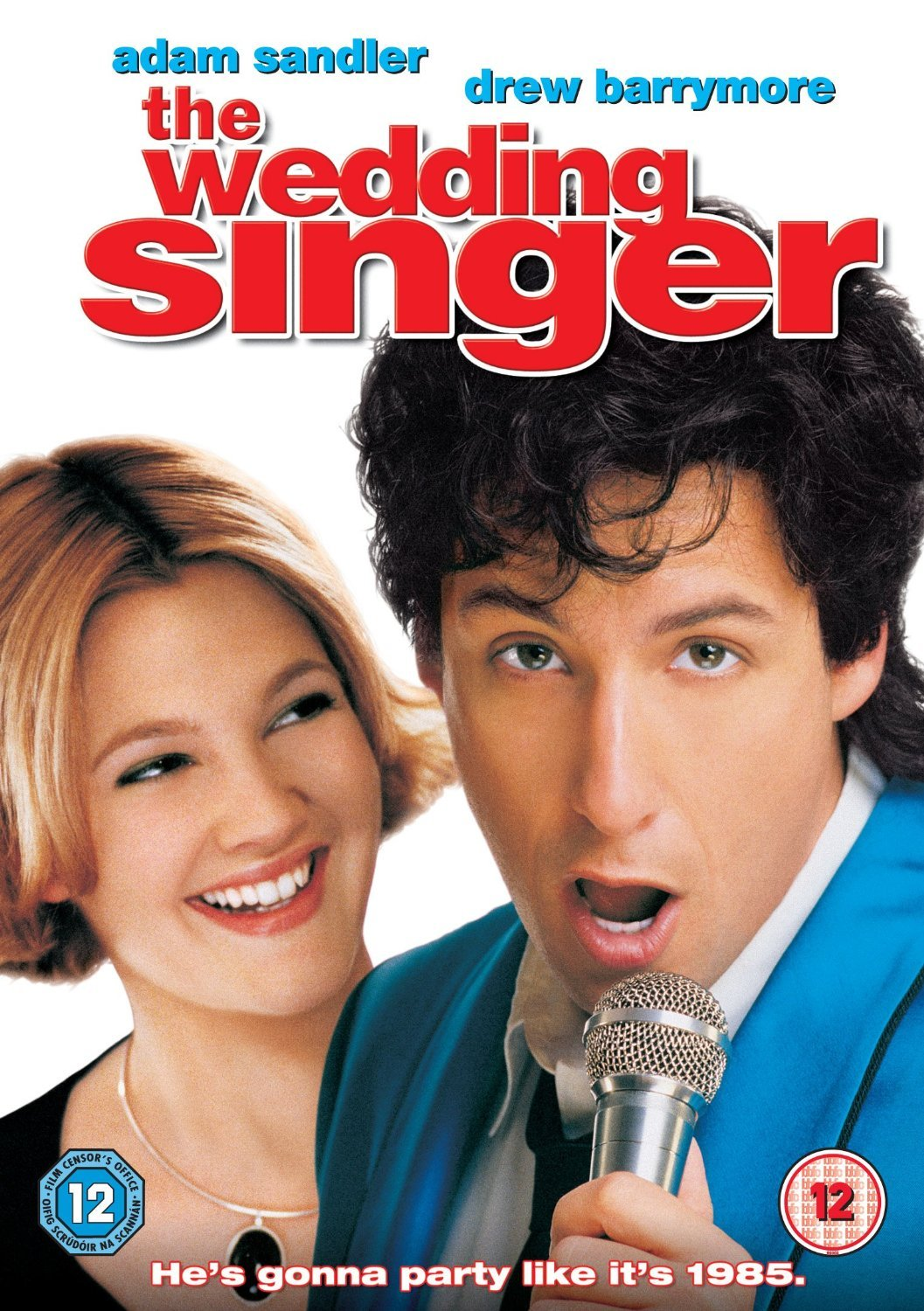 the wedding singer, movie, film, romantic comedy, julia sullivan, glenn gulia, ddrew barrymore, adam sandler