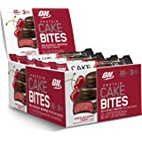 Optimum Nutrition Protein Cake Bites, Whipped Low Sugar Protein Bar, Flavor: Chocolate Dipped Cherry, 12 Count