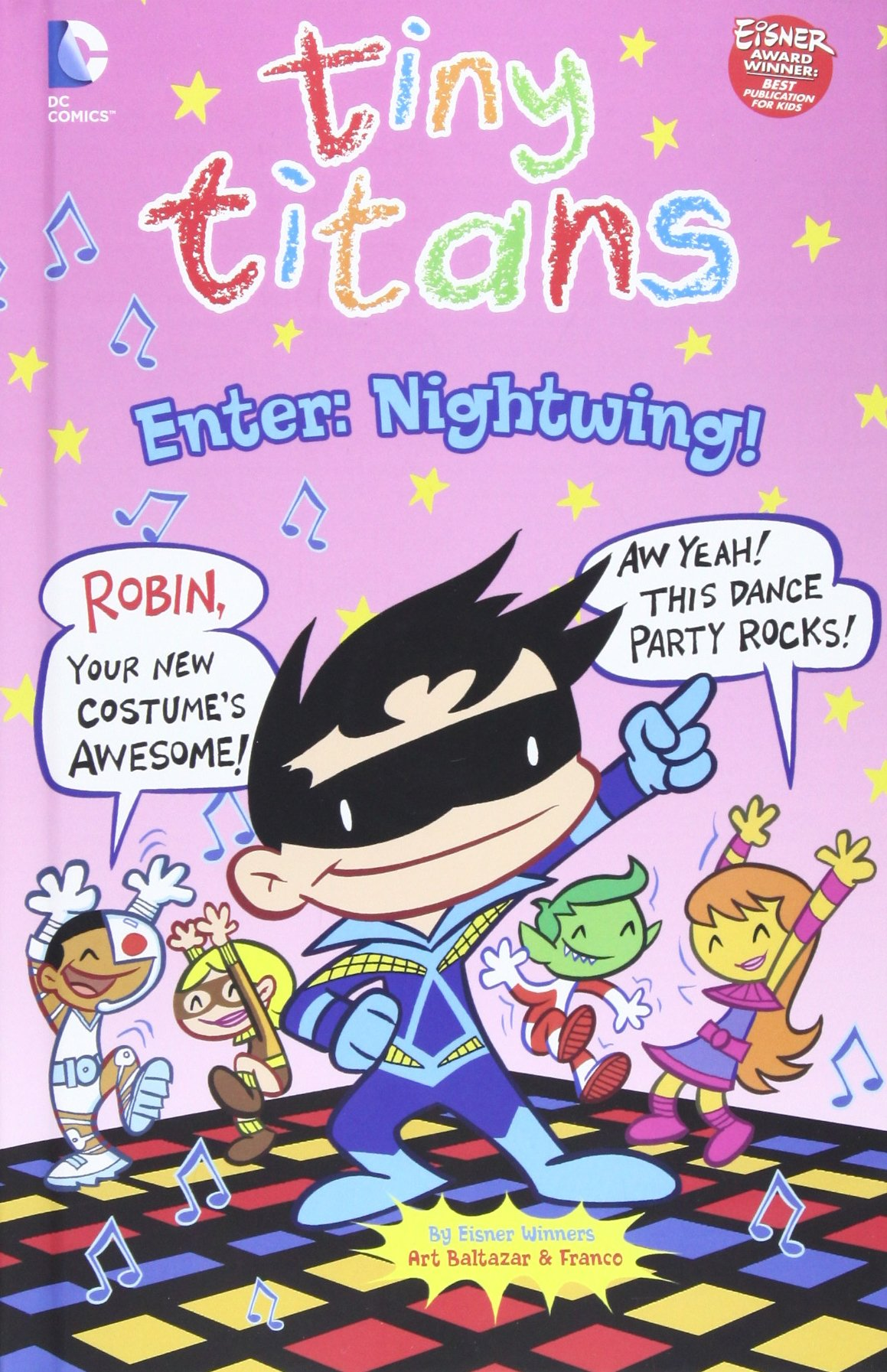 Read Online Enter: Nightwing! (Tiny Titans) ebook