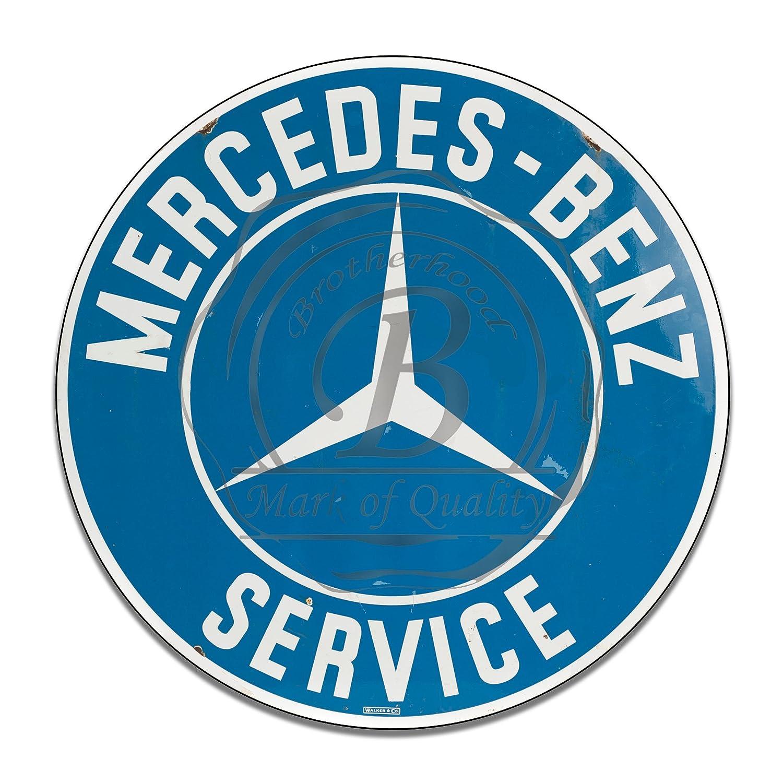 Vintage Style Mercedes Benz Sign