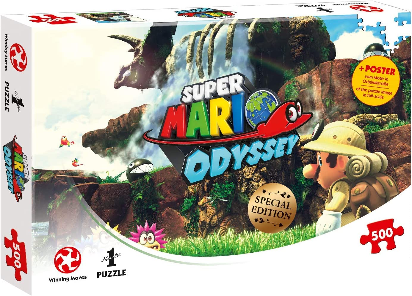 Puzzle Super Mario Odyssey Fossil Falls, 500 Teile: Amazon.es ...