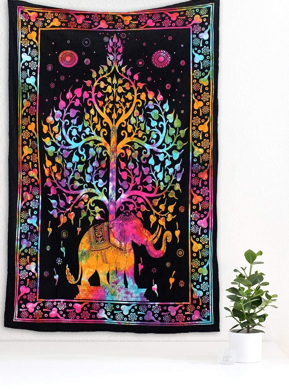 Tree Of Life Tapestry Wall Hanging Hippie Tapestry Beach Throw Gypsy Boho Design