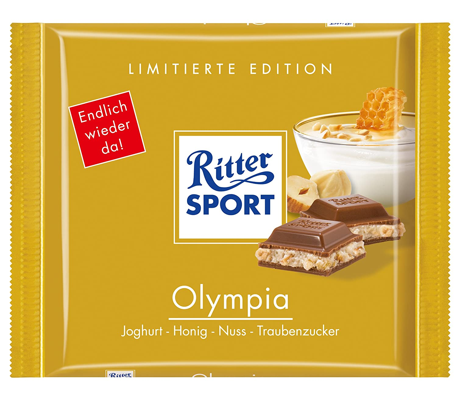 Amazon.com : Ritter Sport Olympia 100g (12-pack) : Licorice Candy ...