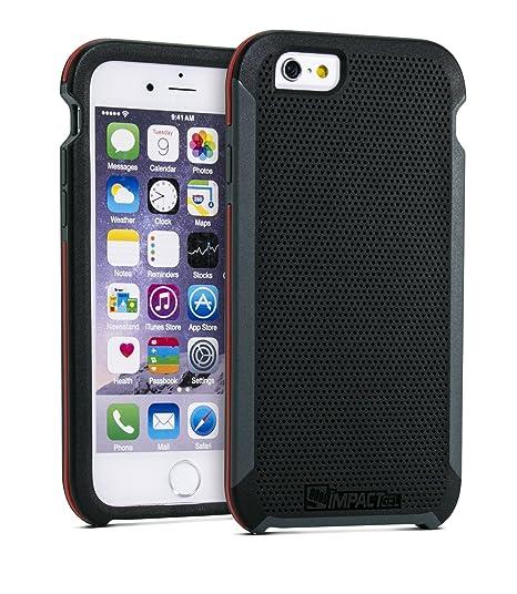 new style 9e9c0 5f1e4 Impact Gel Black Shock Resistant iPhone 6/6s Case