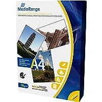 MediaRange DIN A4 fotopapier voor inkjetprinters, hoogglanzend, 135 g, 100 vel