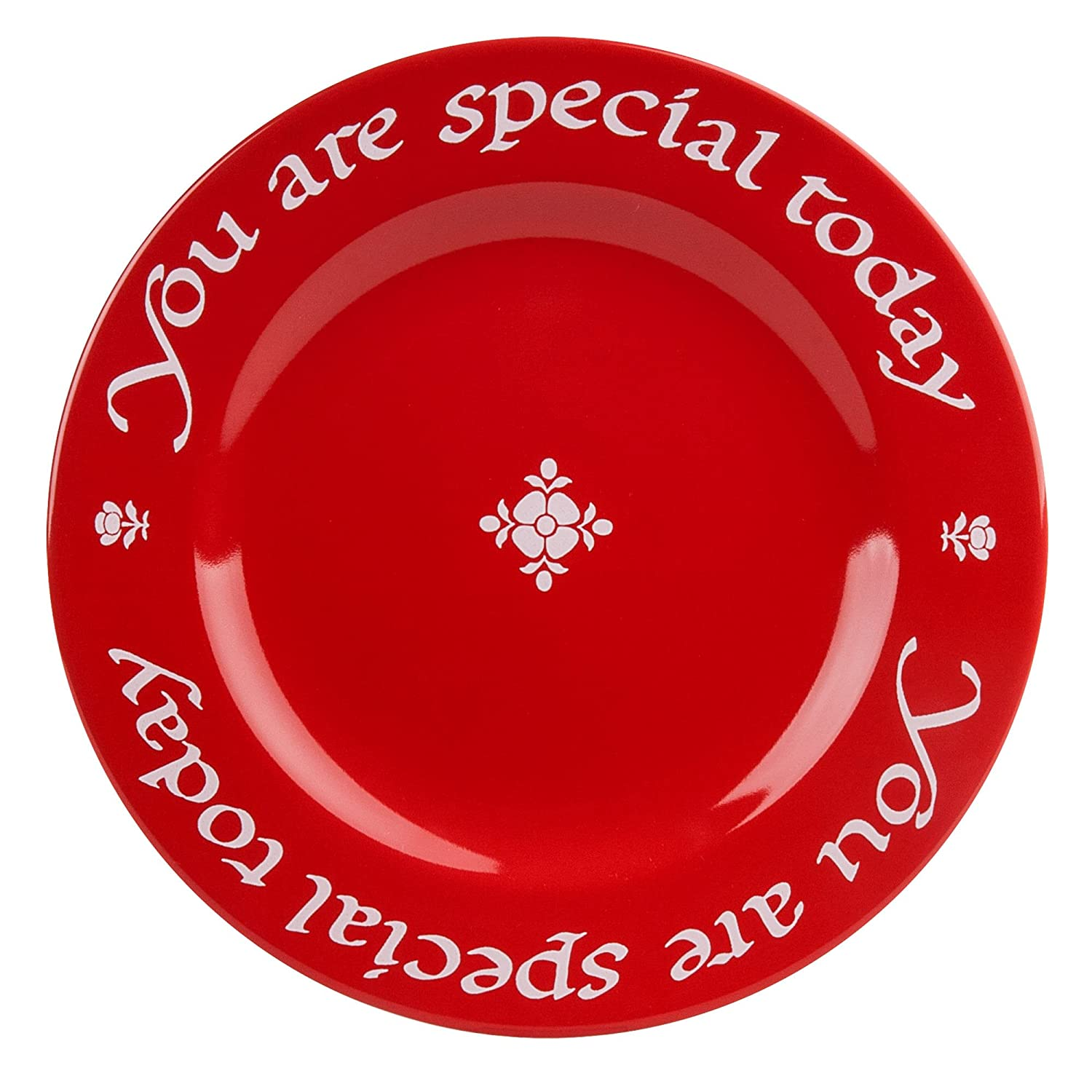 Waechtersbach Plate You Are Special Today, Cherry Red 4991271903